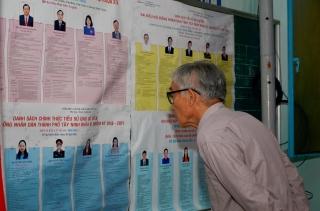 Tây Ninh có 16 đơn vị bầu cử