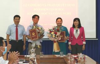 Bổ nhiệm Chánh Văn phòng Đoàn ĐBQH&HĐND tỉnh và Giám đốc Sở KH&CN