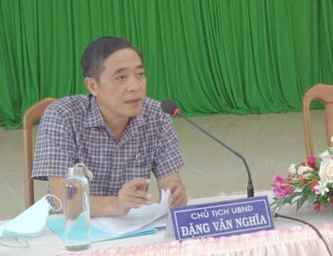 UBND huyện Tân Biên họp phiên thường kỳ tháng 2.2021