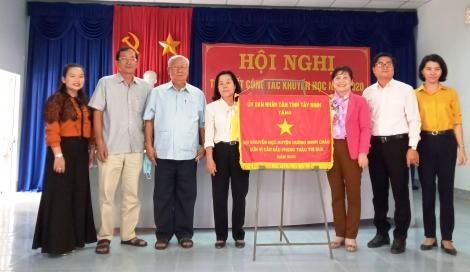 Huyện Dương Minh Châu: Đơn vị dẫn đầu phong trào thi đua khuyến học năm 2020