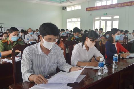 Hòa Thành: Hướng dẫn giới thiệu người ứng cử Đại biểu HĐND Thị xã nhiệm kỳ 2021-2026