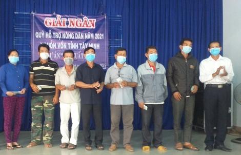 Hội Nông dân tỉnh: Giải ngân Quỹ hỗ trợ nông dân