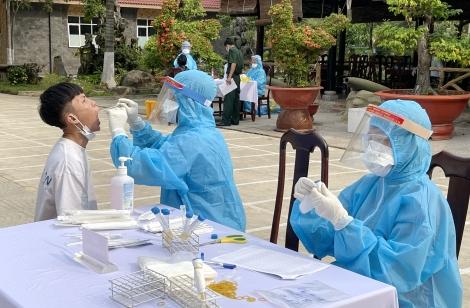 Huyện Dương Minh Châu: Xét nghiệm SARS-CoV-2 cho toàn bộ thanh niên nhập ngũ năm 2021
