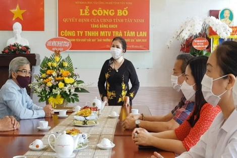Tây Ninh: Trao thưởng cho doanh nghiệp đạt giải thưởng chất lượng quốc gia