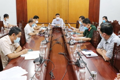 Ban Chỉ đạo phòng, chống dịch bệnh tỉnh họp đột xuất chỉ đạo công tác phòng chống dịch