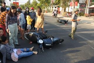 Đi ngược chiều gây tai nạn giao thông