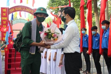 Tây Ninh: 1.824 thanh niên lên đường nhập ngũ