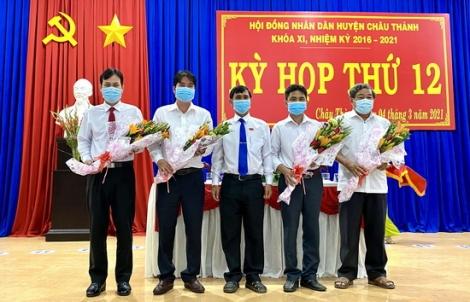 HĐND huyện Châu Thành: Bầu bổ sung phó chủ tịch UBND huyện