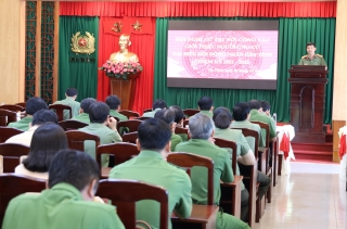 Công an tỉnh: Hội nghị giới thiệu người ứng cử đại biểu HĐND tỉnh nhiệm kỳ 2021 – 2026