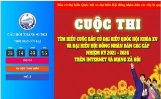 Tây Ninh: Phát động Cuộc thi tìm hiểu bầu cử đại biểu Quốc hội khoá XV và đại biểu Hội đồng nhân dân các cấp nhiệm kỳ 2021 – 2026