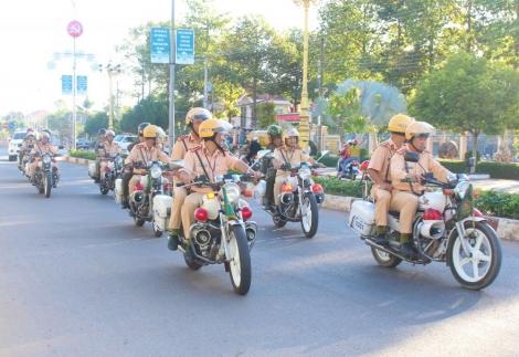Tây Ninh: Phát động phong trào thi đua bảo đảm trật tự, an toàn giao thông năm 2021