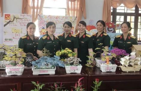Hội Phụ nữ Trung đoàn 5 gặp mặt nhân ngày kỷ niệm Quốc tế phụ nữ