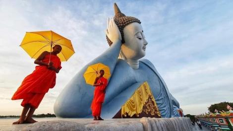 """Choáng ngợp trước vẻ đẹp """"vạn người mê"""" của ngôi chùa Khmer nổi tiếng tại Sóc Trăng"""