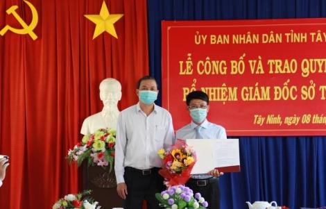 Ông Phạm Văn Đặng được bổ nhiệm làm Giám đốc Sở Tư pháp