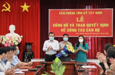 Ông Dương Quốc Sinh được bổ nhiệm làm Phó Giám đốc Sở LĐ-TB&XH