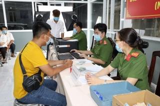 Tây Ninh: Giai đoạn một cấp được 53.556 CCCD gắn chíp điện tử