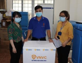 Tây Ninh tiếp nhận 400 liều vaccine Covid-19