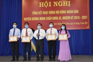 HĐND huyện Dương Minh Châu: Nhiều đổi mới, sáng tạo