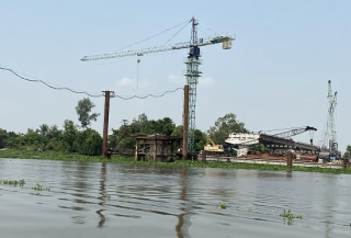 Dự kiến tháng 7.2021, cầu An Hòa sẽ được hợp long