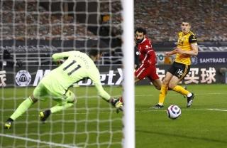 Liverpool trở lại top 6 sau trận thắng Wolves