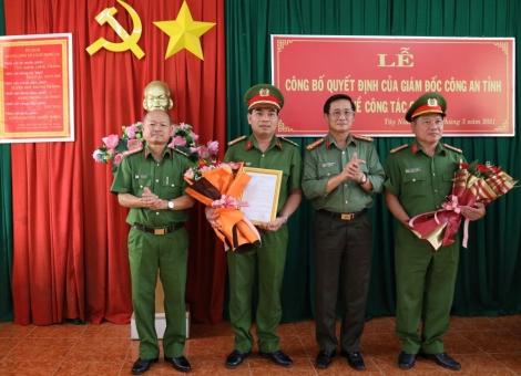 Công an Tây Ninh: Điều động, bổ nhiệm nhiều các bộ chủ chốt về các đơn vị