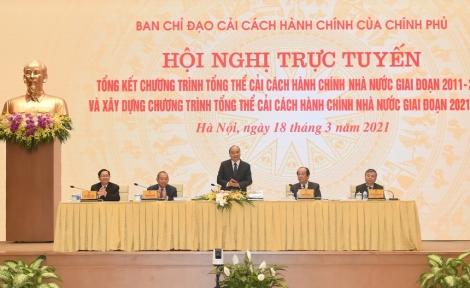Thủ tướng: 'Cải cách hành chính mạnh mẽ để đất nước tiến lên'