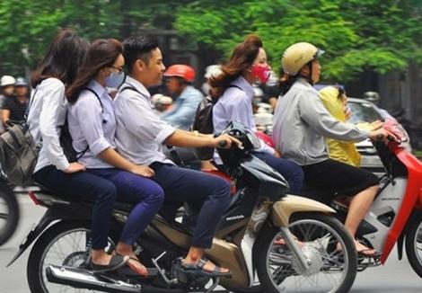 Xử lý nghiêm thanh, thiếu niên vi phạm trật tự an toàn giao thông
