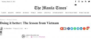 """Báo Philippines phân tích 4 """"sách lược"""" chống dịch Covid-19 đáng học hỏi của Việt Nam"""