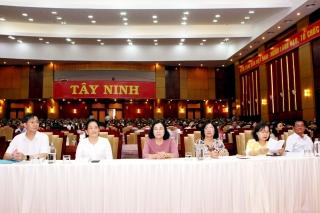 Tây Ninh: Hơn 8 ngàn cán bộ, đảng viên tham dự hội nghị trực tuyến toàn quốc học tập Nghị quyết Đại hội lần thứ XIII của Đảng
