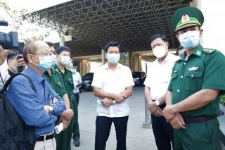 Thứ trưởng Bộ Y tế chỉ đạo Công tác phòng chống dịch Covid – 19 tại Tây Ninh: Kiểm soát chặt chẽ đường biên giới là biện pháp tối ưu