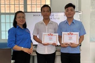 Trường Cao đẳng nghề Tây Ninh: Nhiều hoạt động thiết thực trong Tháng Thanh niên