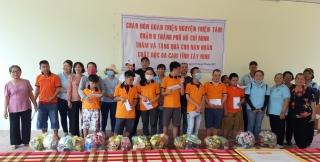 Đoàn thiện nguyện Thiện Tâm thăm, tặng quà cho nạn nhân chất độc da cam/dioxin Tây Ninh