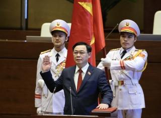 Đồng chí Vương Đình Huệ được bầu giữ chức vụ Chủ tịch Quốc hội