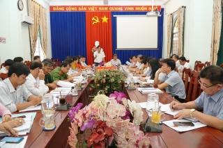 HĐND tỉnh: Giám sát công tác bầu cử huyện Gò Dầu