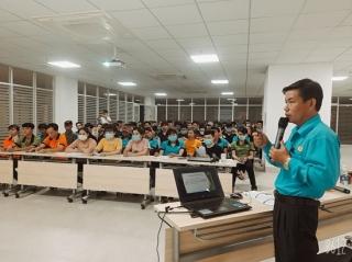 Liên đoàn Lao động tỉnh tổ chức 33 cuộc tuyên truyền bầu cử đại biểu Quốc hội khóa XV và đại biểu HĐND các cấp