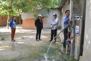 Tân Châu: 483 hộ nghèo và gia đình chính sách đã được lắp đặt hệ thống xử lý nước hộ gia đình nông thôn