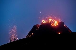 """Núi lửa ở Iceland """"thức giấc"""" sau 6.000 năm"""