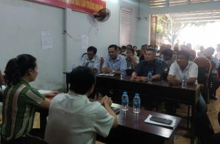 Thị trấn Châu Thành: Tuyên truyền bầu cử Quốc hội khoá XV và HĐND các cấp nhiệm kỳ 2021 - 2026 cho bà con giáo dân