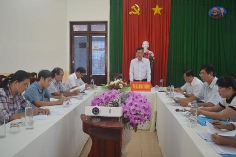 HĐND thị xã Hòa Thành: Giám sát công tác quản lý và bảo vệ kết cấu hạ tầng giao thông đường bộ