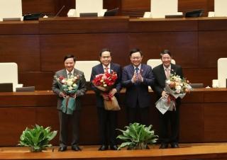 Ban hành Nghị quyết bầu, miễn nhiệm Chủ tịch, Phó Chủ tịch Quốc hội
