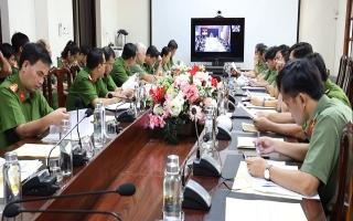 Bộ Công an: Hội nghị giao ban trực tuyến về kết quả triển khai thực hiện xây dựng cơ sở dữ liệu quốc gia về dân cư
