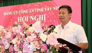 Đảng uỷ Công an tỉnh: Sơ kết công tác quý I.2021, triển khai công tác trọng tâm quý II.2021