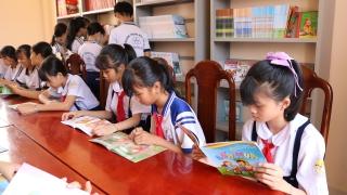 Gò Dầu khánh thành thư viện khuyến học