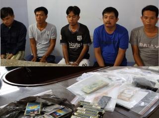 Xóa tụ điểm đánh bạc ở phường Long Thành Trung