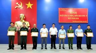 Thị xã Trảng Bàng khen thưởng 24 tập thể, 65 cá nhân có thành tích xuất sắc trong công tác phòng, chống dịch bệnh Covid-19