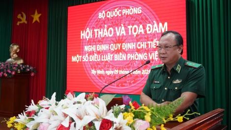 Hội thảo và toạ đàm về Nghị định quy định chi tiết một số điều Luật Biên phòng Việt Nam