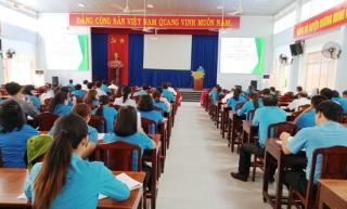 LĐLĐ huyện Dương Minh Châu: Tuyên truyền bầu cử đại biểu Quốc hội và đại biểu HĐND các cấp nhiệm kỳ 2021 - 2026