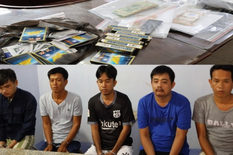 Công an thị xã Hòa Thành xóa tụ điểm đánh bạc tại phường Long Thành Trung
