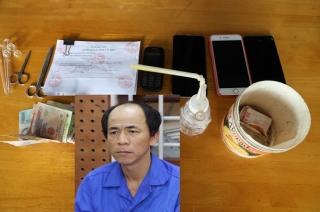 Công an huyện Gò Dầu bắt đối tượng mua bán trái phép chất ma tuý.