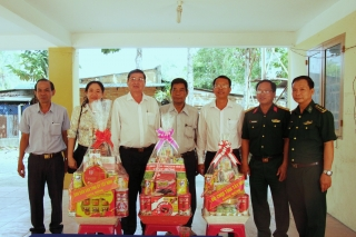 Thăm chúc Tết Chol Chnam Thmay các địa phương trong tỉnh